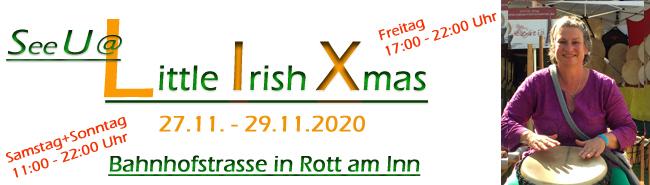 Little Irish Chrismas November 2020 in Rott am Inn